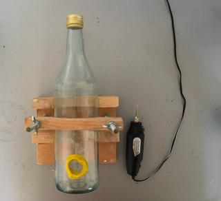 Come Forare Una Bottiglia Di Vetro.Creare Lampade Con Bottiglie Riciclate Sparkling Vintage